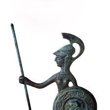 greek goddess greek key verdigris goddess statue athena