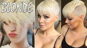 35 white platinum blonde hair short blonde hair for women youtube