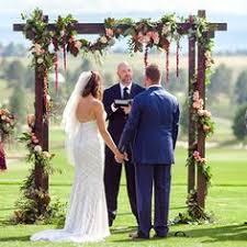 wedding arches rental denver hops garland wedding ceremony arch rental www bellacalla