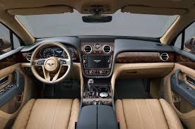 bentley interior 2017 bentley bentayga luxury interior 7288 cars performance