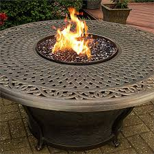 Patio Fire Pit Table Sentinel Outdoor Fire Pit Table With Round Porcelain Top