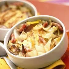cuisiner endives cuites tartiflette aux endives cuisine plurielles fr