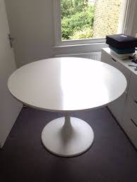 Docksta Table Ikea Docksta Table Used 70 Tulip Style Round Table In