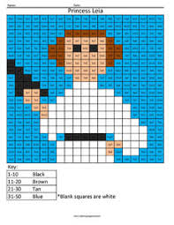 star wars multiplication and division coloring squared