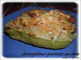 cuisiner des christophines christophines gratinees au thon cerises et clafoutis