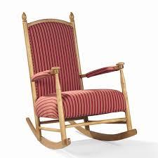 Upholstered Rocking Chair Sam Moore Lancaster Upholstered Wooden Shaker Rocker Ahfa