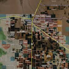 pinal county aerial wall mural landiscor real estate mapping 2014 pinal county wall map mural standard mini print scale 57 x48