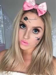 Broken Doll Halloween Costume Marionette Makeup U2026 Pinteres U2026