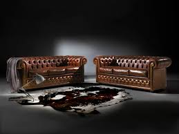 Chesterfields Sofa by Chesterfield Sofa Leather 3 Seater Brown Chesterfield