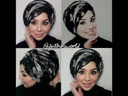 tutorial turban sederhana 530 best fashion tutorial hijab turban images on pinterest