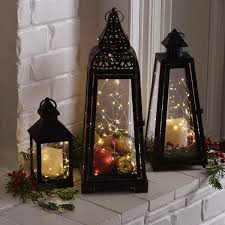 Christmas Decorations Outdoor Candles by Best 25 Christmas Lanterns Ideas On Pinterest Outdoor Xmas