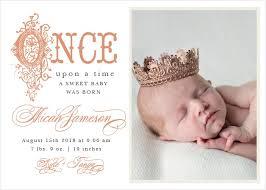 birth announcements foil birth announcements 40 designs basic invite