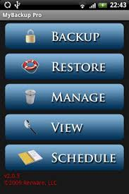 mybackup pro apk free look mybackup root released for free on the android market