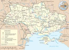 Europe Map Cities by Map Ukraine Travel Europe