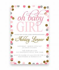 polka dot invitations oh baby shower invitation polka dot baby shower invitation