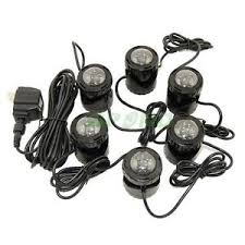 submersible led fountain lights led water fountain lights shining inspiration 16 submersible 6 led