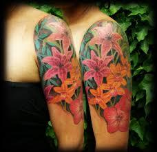 floral half sleeve tattoo for women half sleeve cross tattoo for