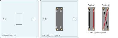 multiway switching and switches uk and us terminology light wiring