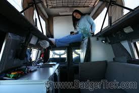 Ford Van Interior Badgertrek Sportsmobile Interior