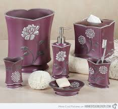 Plum Colored Bathroom Accessories by Plum Bathroom Accessories Walls With Plum Purple Bathroom Ideas