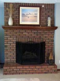 brick fireplace paint u2013 i never expected these results