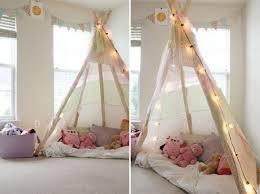 tente chambre fille comment fabriquer un tipi 60 idées pour une tente indienne sympa