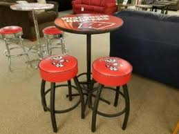 red pub table and chairs game room furniture midwest billiards inc
