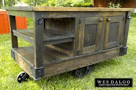 distressed kitchen island distressed wood modern rustic kitchen island cart with walnut