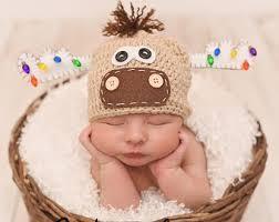 newborn moose hat etsy