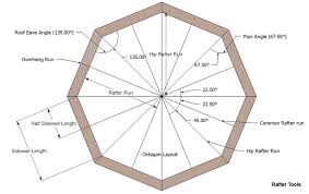 Hip Roof Measurements Rafter Tools For Android Apps Calculator Octagon Roof Framing