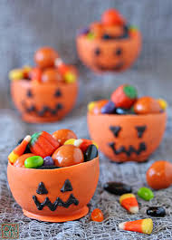 edible chocolate cups to buy edible pumpkin candy chocolate cups for oh nuts
