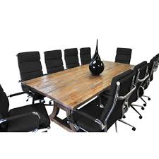 Conference Table With Chairs Solispatio 11 Piece Ligna 8 U0027 Rectangular Conference Table Set