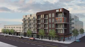 Mixed Use Building Floor Plans by Colfax Avenue New Route 40 Mixed Use Development 2000 Sunset