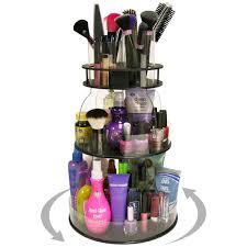 hair and makeup organizer rotating makeup organizer mycosmeticorganizer