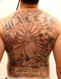 collection of 25 gangsta designs on back