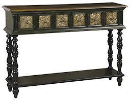 48 inch console table amazon com pulaski priya console table 48 by 33 by 12 inch dark