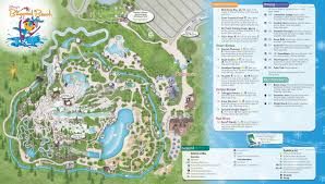 Florida Beaches Map by Blizzard Beach Map With Polar Patio Locations Vacay Pinterest
