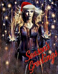 killer frost the flash christmas card by watchall on deviantart