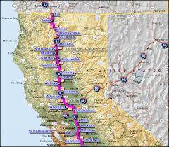 map of oregon freeways i 5 interstate 5 california