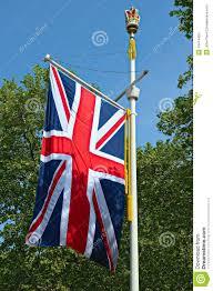 London Flag Photos Union Jack Flag The Mall London England Uk Stock Image Image