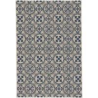 4 X 5 Outdoor Rug 4 X 6 Small Spa Blue Indoor Outdoor Rug Finesse Tile Rc Willey