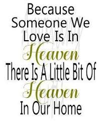 svg because someone we is in heaven heaven ornament