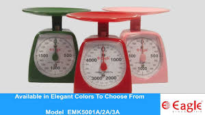 Vintage Kitchen Scales Mechanical Kitchen Weighing Scale Emk5001a Youtube