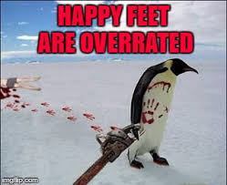 Happy Feet Meme - happy feet are overrated