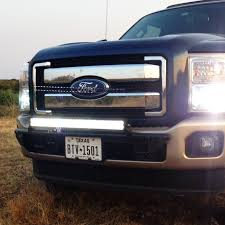 f250 led light bar n fab led direct fit light bar