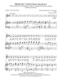 medley 101 free arrangements