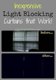 Light Block Curtains Inexpensive Light Blocking Curtains That Work Thrifty