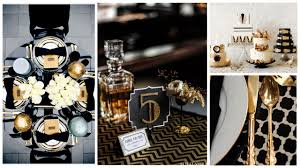 interior design creative black and white party themes and decor