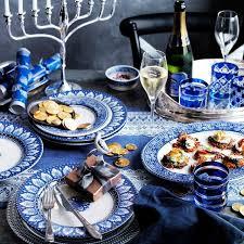 hanukkah tableware 58 best hanukkah silver and blue images on hannukah