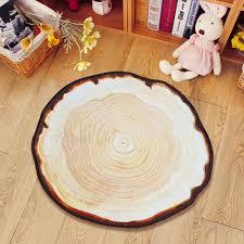 online shop yazi country style tree annual ring carpet anti slip